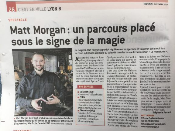 magicien Lyon