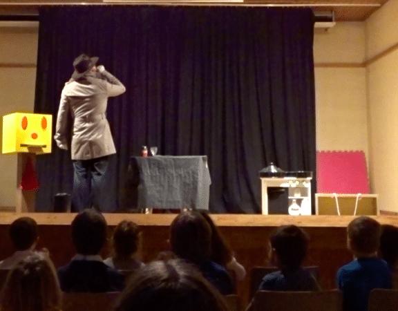 spectacle de magie de fin d'année