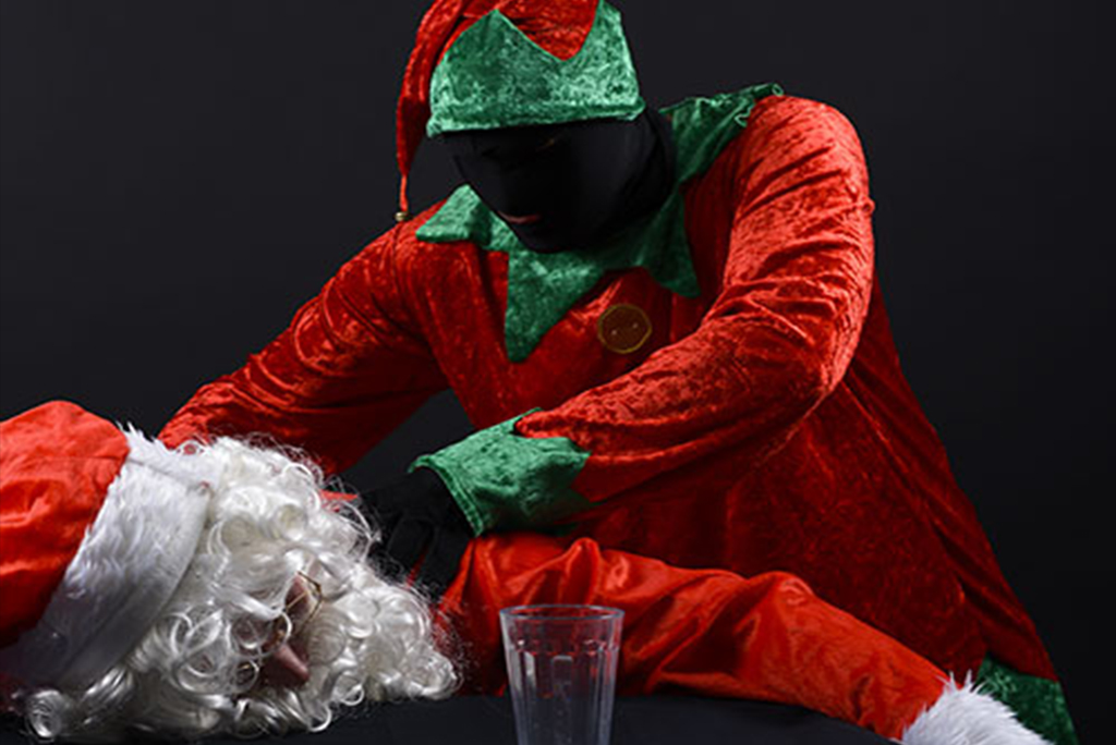 magicien arbre de Noel