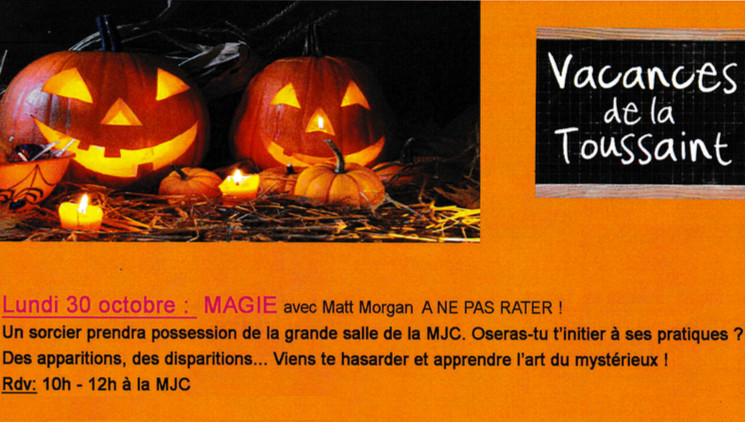 Stage magie Fontaines Saint Martin