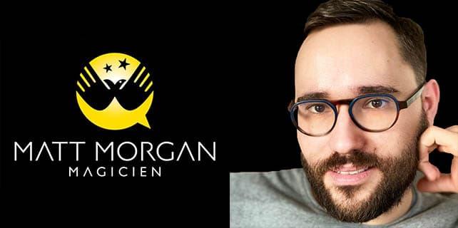 Portrait de Matt Morgan Magicien close up