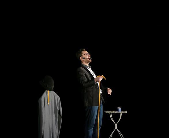 Le spectacle de Matt Morgan pour anniversaire enfant saint etienne 42